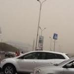 Синоптики Казахстана считают, что пыльное облако над Алматы не связано с недавним пожаром в горах