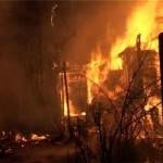 В результате пожара в  Северо-Казахстанской области погибли два человека