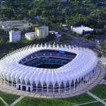 На стадионе в Ташкенте проходит празднование столетия узбекского футбола
