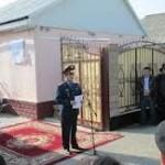 На доме Халык КаҺарманы Газиза Байтасова была открыта мемориальная доска