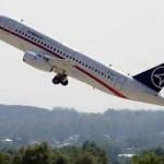 Первый полет Superjet увеличенной дальности