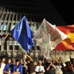 В столице Киргизии проходят митинги