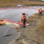 В Атырауской области проходят учения по реагированию на аварийные разливы нефти