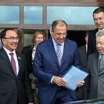 Лавров с официальным визитом находится в Казахстане