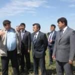 Назарбаев посетил с рабочим визитом аграриев Костанайской области