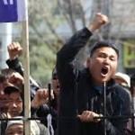 Дестабилизации ситуации в Киргизии с помощью акриловой краски
