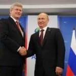 Военное сотрудничество Канады с Россией приостановлено