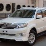 В Казахстане выпускаются автомобили Toyota Fortuner