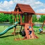 В Павлодаре увеличилось количество игровых площадок для детей