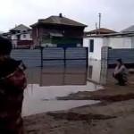 Последствия наводнения в Атбасаре