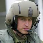 Принц Уильям покинул службу в ВВС