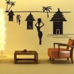 Интерьерные наклейки для дизайна дома