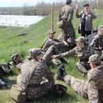 Чемпионы Универсиады из РК прошли военные сборы
