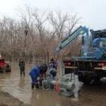 Казахстан борется с паводками