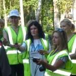 Журналисты Алматинской области в роли кандидатов в сотрудники дорожной полиции