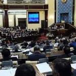 Около шестидесяти законопроектов уже поступило в парламент