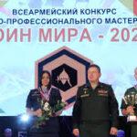 Международный конкурс военно-профессионального мастерства «Воин мира»